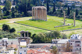 Panoramic view of Athens from Acropolis, Greece — Stock Photo