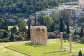 Details of Temple of Zeus in Athens, Greece — Stock Photo