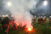 PAOK VS OLYMPIACOS GREEK CUP — Stok fotoğraf