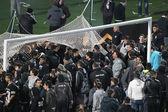 Paok rakip Olympiakos Yunanistan Kupası — Stok fotoğraf