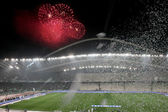 PAOK VS PANATHINAIKOS GREEK CUP FINAL — Foto de Stock