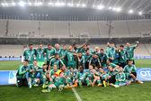PAOK VS PANATHINAIKOS GREEK CUP FINAL — Zdjęcie stockowe