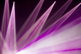 Defocused entertainment concert lighting on stage, bokeh. — Stock Photo