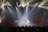 Sakis Rouvas Ace of Heart tour at Sports arena in Thessaloniki — Foto de Stock
