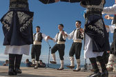 Greek folklore dance — Stock Photo