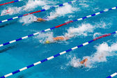 MAKEDONIAN SWIMMING RACE GREECE — Stock Photo