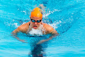 Makedonische zwemmen race Griekenland — Stockfoto