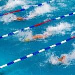 MAKEDONIAN SWIMMING RACE GREECE — Stock Photo #47409969