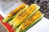 Organic Grilled Corn Ready to Eat — Foto Stock