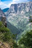 Vikos gorge in Zagoria, Greece. — Stock Photo