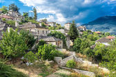 The picturesque village of Aristi in Zagori area, northern Greec — Foto de Stock
