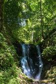 Mountain waterfall in Elatohori, Katerini. — Stock Photo