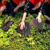 Juramento estudante — Foto Stock