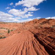 Coyote buttes canyon — Stock Photo