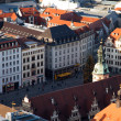 Leipzig from above — Stock Photo