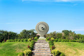 Thammachak Wheel of Dharma — Stock Photo