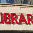Library logo — Stock Photo