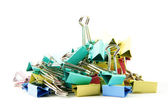 Colorful clips — Stock Photo