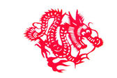 Papel cortado chino — Foto de Stock