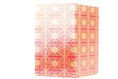 Beautiful red box — Stock Photo