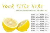 黄柠檬 — 图库照片