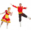 Russian dance — Stock Photo