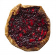 Bilberry and apple pie — Stock Photo