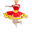 Russian folk dance — Stockfoto