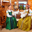 Party in a village in the old style — Stock Photo #33521421