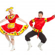 Russian dance — Foto Stock