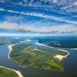 Great river — Stock Photo