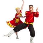 Russian folk dance — Stock Photo #33522517