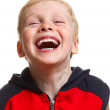 Little boy laughing — Foto de Stock