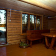 Stock Photo: Sauna interior