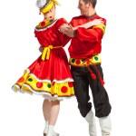 Russian folk dance — Stock Photo #33524295