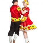 Russian folk dance — Stock Photo
