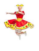 Rysk folkdans — Stockfoto