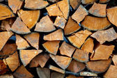 Firewoods background — Stock Photo