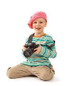 若い写真家 — ストック写真