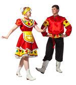 Danza folclórica rusa — Foto de Stock