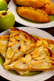 Home baking with apples — Foto Stock