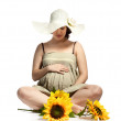 Beautiful pregnant woman — Stock Photo #41618933