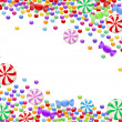 Background of candies — Stock Vector #47381277