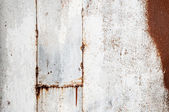 Rusty painted metal surface — Stockfoto