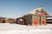 Antigua casa de madera — Foto de Stock