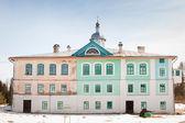 パヴロ obnorsky アクティブ修道院冬の朝. — ストック写真