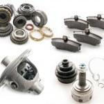 Set of auto parts. — Stock Photo