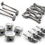 Set of auto parts — Stock Photo #44700739