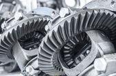 Gear transmission — Stock Photo