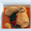 Chicken massaman curry — Stock Photo